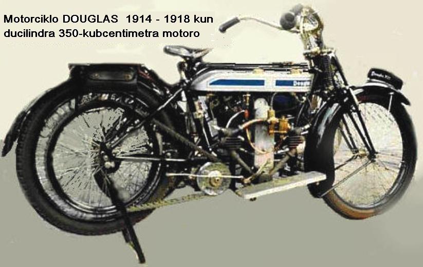 Motorciklo Douglas 1914-1918