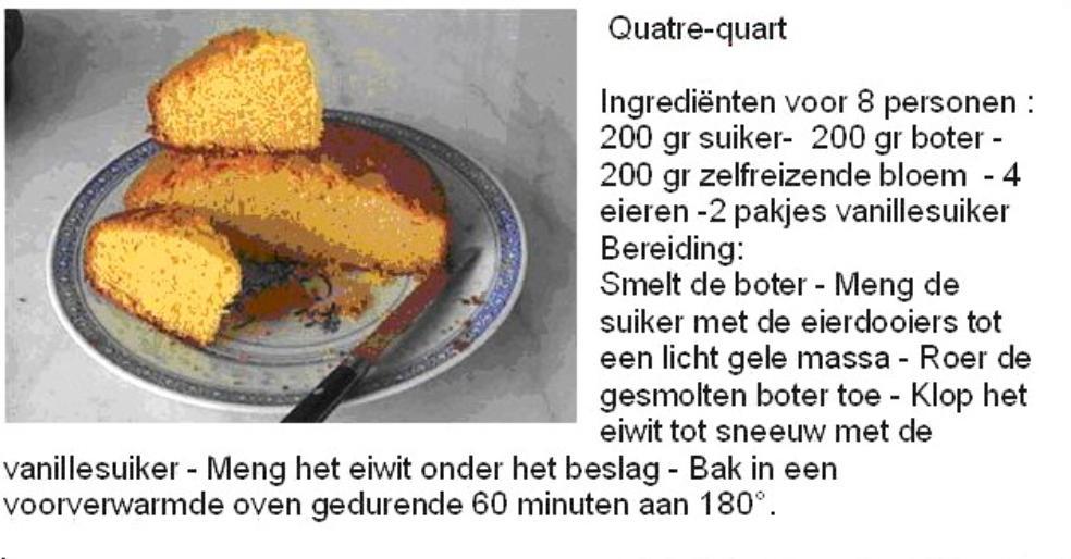 Quatre-quart cake