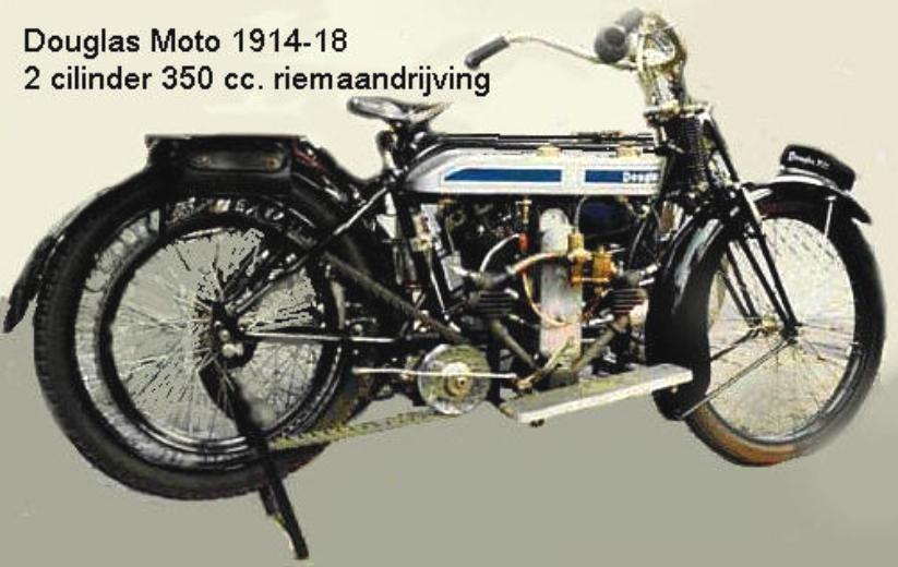 Moto Douglas 1914-1918