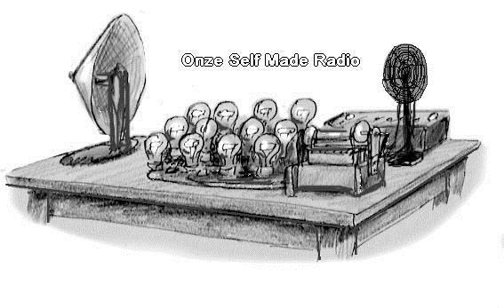 Zelfgemaakte radio
