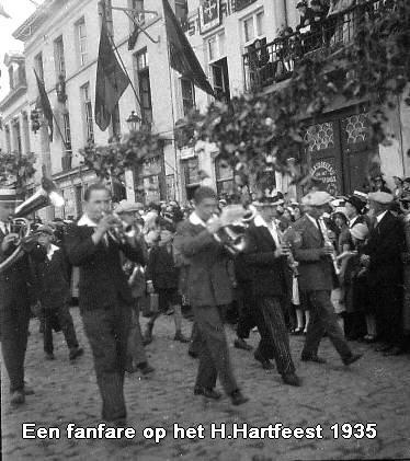 Fanfare Heilig Hartfeest 1935