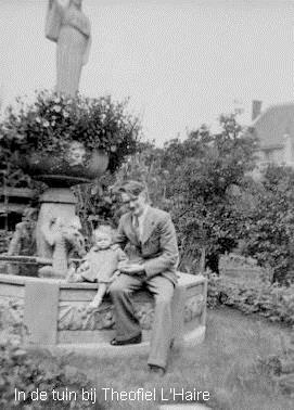 In de tuin van Theofiel L'Haire