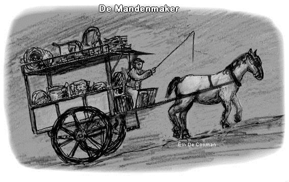 Mandenmaker met paard
