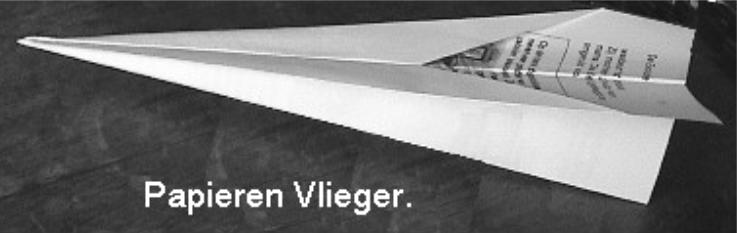 Papieren vlieger