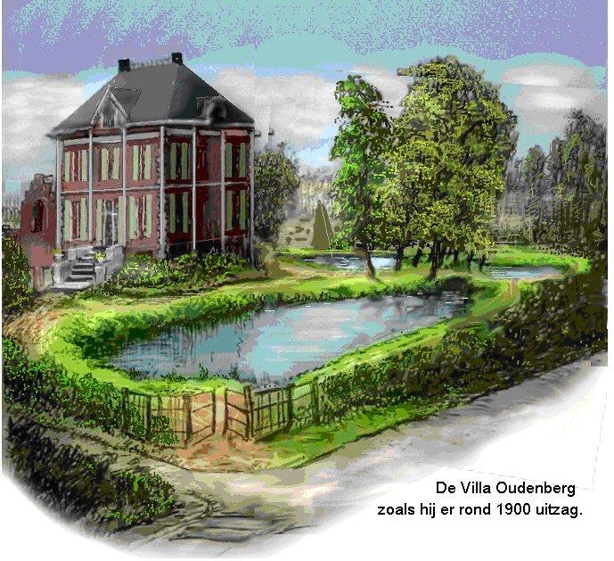 Villa Oudenberg rond 1900