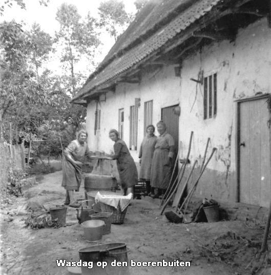 wasdag op de boerenbuiten
