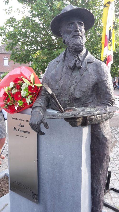 Standbeeld Jan De Cooman (2016)